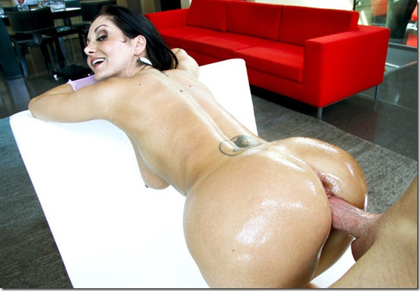 Wet Oiled Asses Getting Fucked 23